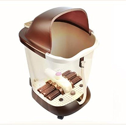 Affordable EXTR ANT Automatic Massage Footbath Electric Heating Foot Bath Barrel Deep Barrel Massage...
