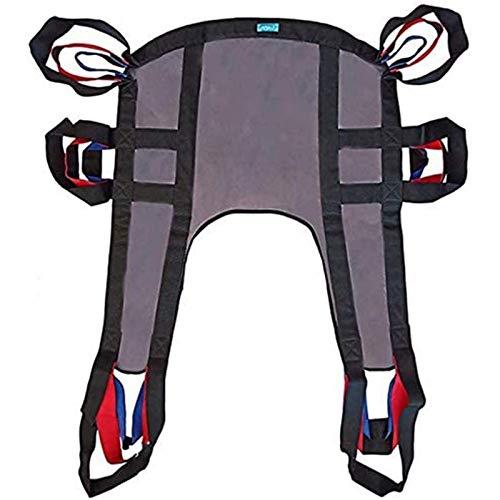 Z-SEAT Manuelle elektrische Hebebügel, Hängematte für ältere Menschen, Krankenwagen-Transfermaschine, Ganzkörper-Hebezeug