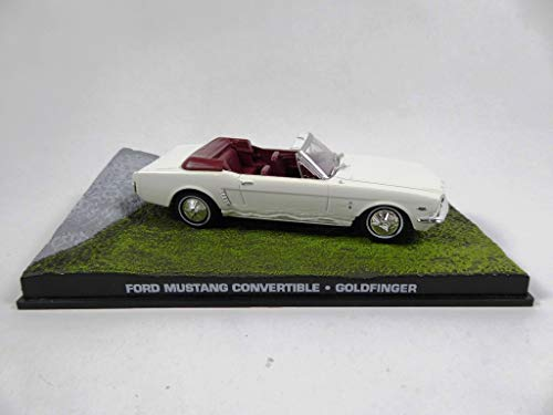 OPO 10 - Ford Mustang 1/43 James Bond 007 Auto dal Film Goldfinger (DY035)