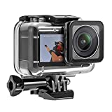 Underwater Waterproof Case Cover for DJI Osmo Action Camera Diving Protective Housing Shell for DJI Osmo Sports Camera Accessory, 60M/200ft