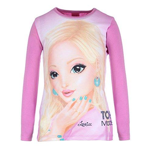 Top Model Mädchen T-Shirt, pink, Größe 140, 10 Jahre