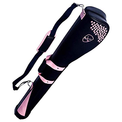 YLLN Golf Reisetasche Damen Schulter Rücken Tragbare Golftasche Herren Golftasche Reiten Hybrid Walking Golftasche Golf Constrictor (Farbe: C1, Größe: 128 * 22 * 14cm)