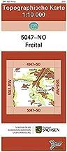 Freital (5047-NO): Topographische Karte 1:10 000 (Topographische Karten Sachsen 1:10 000 (TK 10); amtlich)