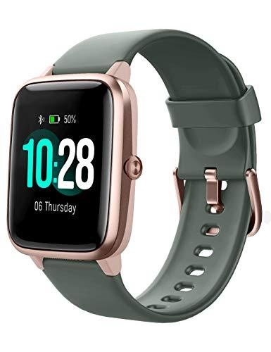YAMAY Smartwatch,Fitness Armband mit Pulsuhren Fitness Tracker Wasserdicht IP68...