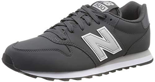 New Balance 500, Sneaker Uomo, Grigio (Magnet Magnet), 45 EU