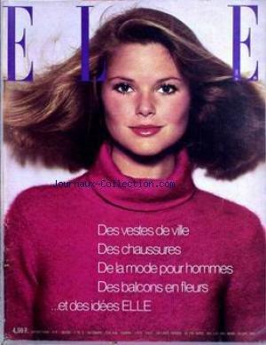 ELLE [No 1551] du 29/09/1975 - DES VESTES DE VILLE DES...
