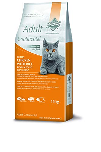 Dibaq Food for Cats Naturally Better (Dnm) Continental Chicken and Rice – 1 Bag