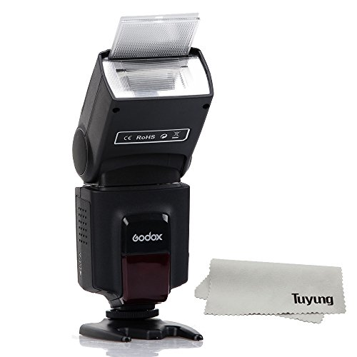 Godox TT520 Universal Flash Speedlite for DSLR Cameras Canon Nikon Pentax Olympus (Black)
