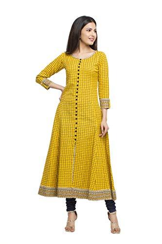 Yash Gallery Women's Cotton Slub Ch…