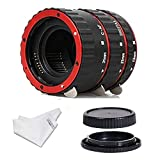 INSEESI Macro Lens Extension Tube with Lens Body and Rear Cap for Canon EOS EF Canon1D 1Ds...