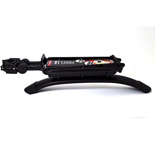 Pletscher - Portaequipages para Bicicleta, Color Negro