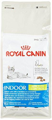 ROYAL CANIN Katzenfutter Indoor Appetite Control 2 kg, 1er Pack (1 x 2 kg)