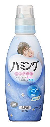 ハミング 柔軟剤 フローラルブーケの香り 本体 600ml