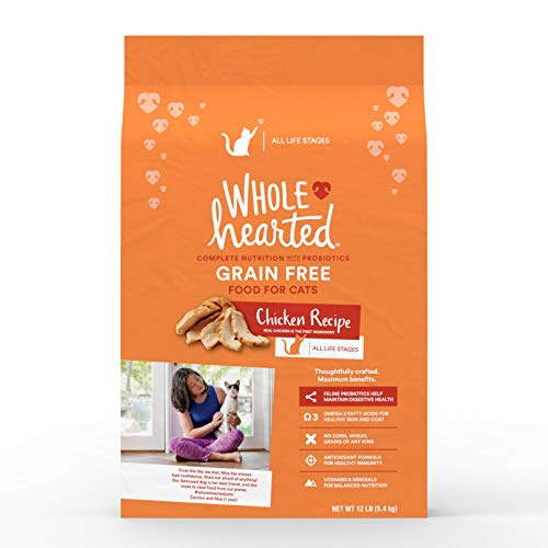 WholeHearted Grain Free Chicken Dry Cat Food