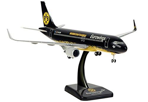 Limox Wings Airbus A320-200 Eurowings BVB Borussia Dortmund Mannschaftsairbus Scale 1:200