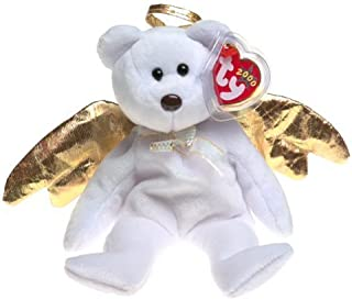 Ty Halo II (2) the Retired Bear Beanie Baby with Tag Protector