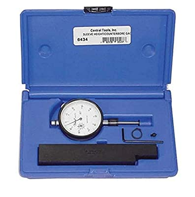 Central Tools 6434 Sleeve Height and Counter Bore Gauge from Central Tools