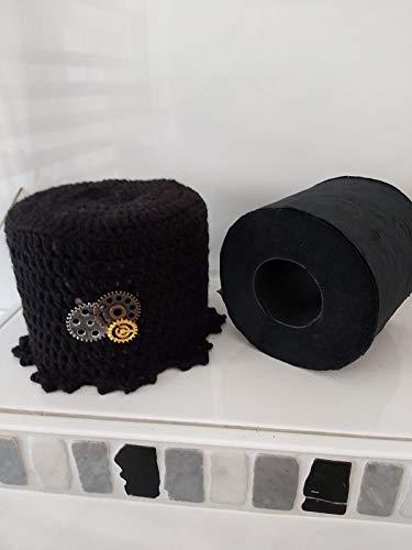 Klorollenhut Steampunk klohüte Klopapierhut Klopapierhüte Toilettenpapierhut Toilettenpapierhüte