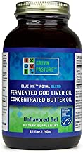 Green Pastures 240 ml Unflavoured Butter Oil Fermented Cod Liver Oil Blend Estimated Price : £ 37,50