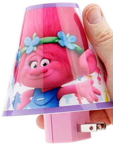 Dreamworks Trolls Nachtlicht Pink