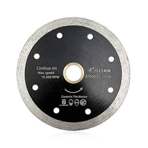 YUNJINGCHENMAN 10pks 105mm Prensado en Caliente Thin Continuar Cuchillas de Corte del Borde de Diamante/baldosas de Diamond Disco de Corte cerámica Chip-Libre