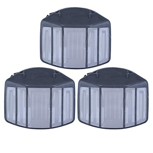 Haishine 3Pcs / Lot Nylon Air Cleaner for Husqvarna 357 XP 357XP 359 EPA Chainsaw Parts 537010901