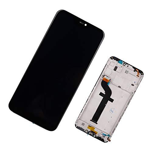 Duotipa Pantalla compatible con Xiaomi Mi A2 Lite/Redmi 6 Pro 5,84 pulgadas, pantalla LCD digitalizador, repuesto con marco + herramientas
