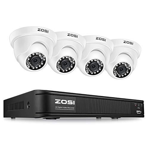 ZOSI 1080P H.265+ 8 Channel Video Security Camera System