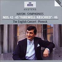 Haydn: Symphonies 42,45 & 46