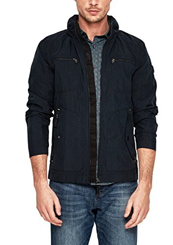 s.Oliver Herren 28.803.51.1805 Jacke, Blau (Blue 5930), Medium