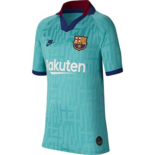 NIKE FC Barcelona 2019/20 Stadium Third Camiseta 3ª Equipación FC Barcelona 19-20, Unisex Adulto, Cabana/Deep Royal Blue, XS