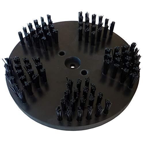 ROKAMAT Nylonbürste grob - Ø200mm - 2er Pack - Tellerbürste Nylon 1,0mm