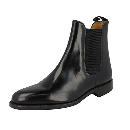 Loake Mens 290 Black Leather Boots 42 EU