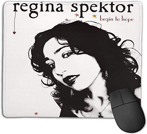 Alfombrilla de ratón, diseño de la alfombrilla de ratón Regina Spektor, apta para el diseño de aprendizaje del trabajo de juego