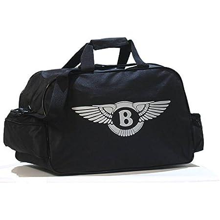 Bentley Logo Sporttasche Leichte Seesack Reisegepaeck Duffel Wochenende Uebernachtung Taschen Fuer Reisen Sport Gym Urlaub Auto