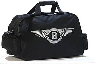 Bentley Logo Sporttasche Leichte Seesack Reisegepaeck Duffel Wochenende Uebernachtung Taschen fuer Reisen Sport Gym Urlaub