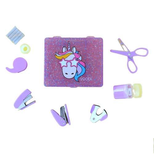Desk Mini Supply Kit-Unicorn by Yoobi