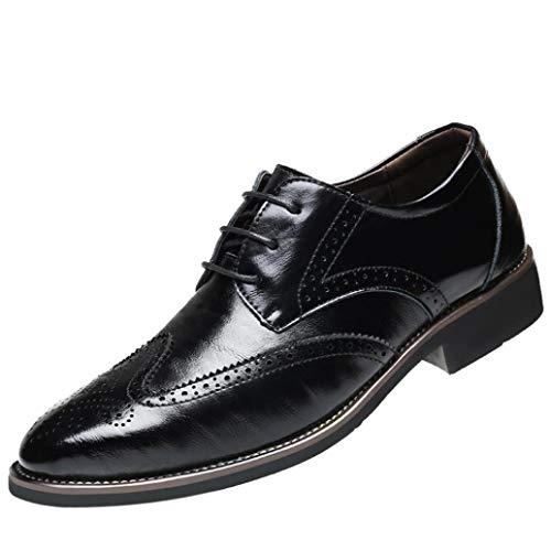 CIELLTE Chaussures Chaussures Habillée Homme Homme Cuir Derby Elégant Oxford Business Chaussures Bateau Vintage Classic Affaires Patchwork