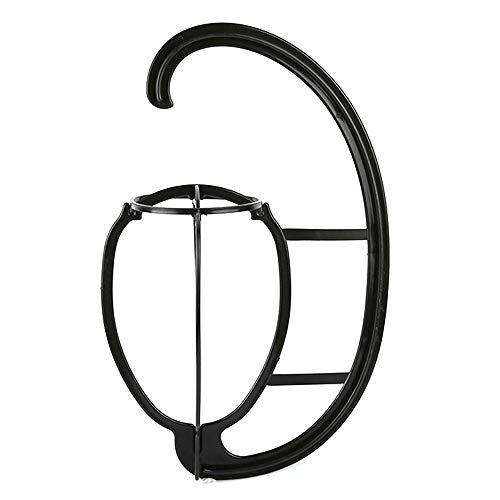 Anself Perücken halter Perücke hängende Kleiderbügel Tragbarer Perückenständer für alle Perücken und Hüte wig stand Perückenständer