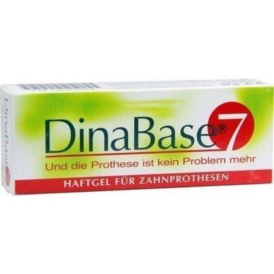 DINABASE 7 kleefgel voor tandprothesen 1 st