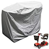 Heavy Duty 300D Mobility Scooter Storage Cover - Keep Your Electric Powered Wheelchair Clean and Dry at Home or on The Road 48'L x 22'D x 38'H