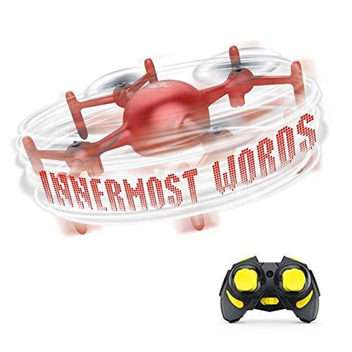 SHISHUFEN Aeronave Cuadricóptero de Control Remoto de Drones de programación de Bricolaje, Estilo: Control Remoto