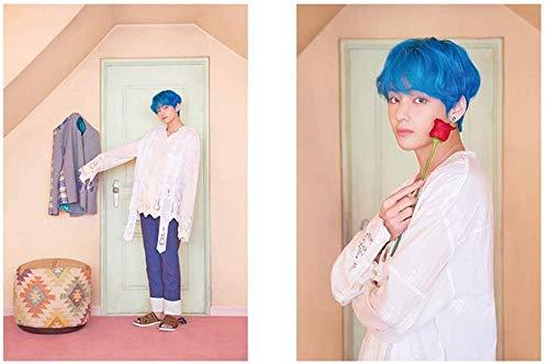 CAR-TOBBY BTS's nieuwe album MAP_OF_THE_SOUL_PERSONA is de derde serie posters. A3 maat is ongeveer 42 * 29,7 cm (H02)