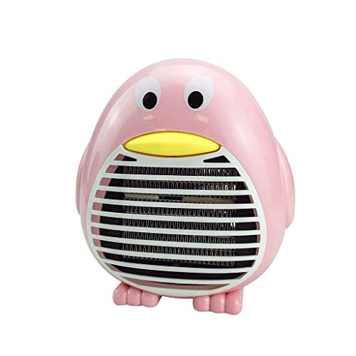 BXzhiri Mini Portable Heater Fan, Heater Fan Desktop Electric Thermostatic Hand Warmer Home Heating Personal Safe Air Heater, Air Warmer Space Heaters