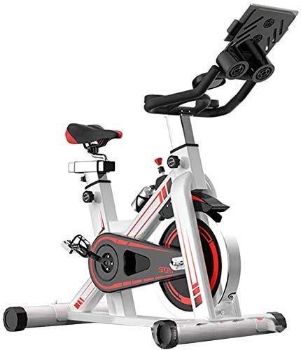 lyq Mini hometrainer Oefening Fiets Fietsen, Verstelbare Stuur Stoelbestendigheid, Smart APP Controle Elektromagnetische Spinning Bike voor Thuis