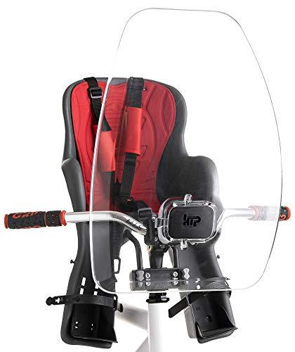htp Parabrezza per Bicicletta 39,5x54 cm in Policarbonato Cic Ciac