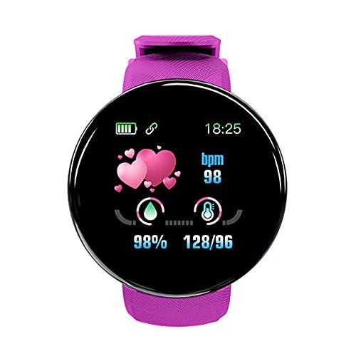 Reloj Inteligente Frecuencia Cardíaca Monitor de Presión Arterial Impermeable Deporte Smartwatch Reloj Mujeres Hombres Niños Reloj Inteligente-5