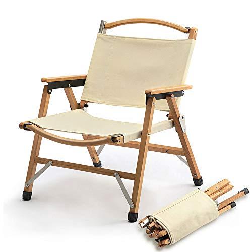 TOMOUNT クラシックチェア 木製 ウッド アウトドア チェア コンパクト収納 脚キャップ 折りたたみ椅子 耐荷...