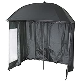 VTK Fishing – Parapluie-Tente de Pêche – 2m20 – Shelter – Inclinable – 210T Super Coated