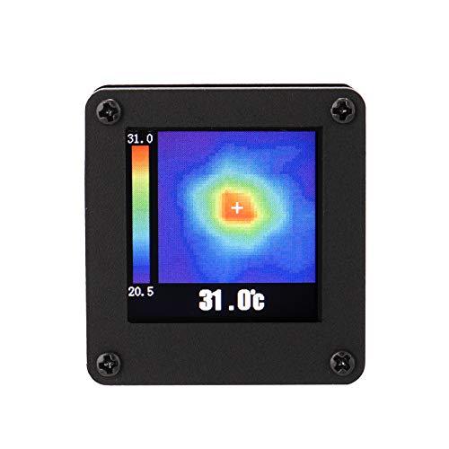 KKnoon サーモグラフィーカメラ 温度センサー 赤外線サーモグラフィカメラ 7Mハウジング付き AMG8833 IR 8 * 8